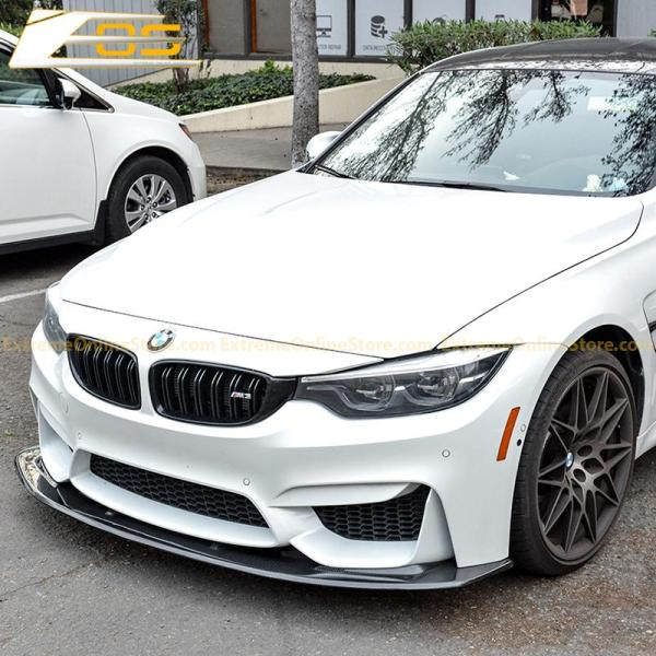 Carbon Splitter Front Splitter Lip | 15-Up BMW F80 M3