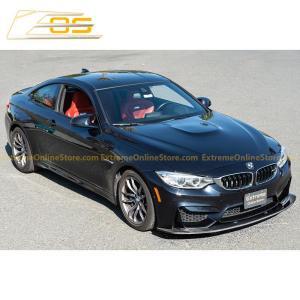 Carbon Fiber Front Splitter Lip | 15-Up BMW F82 M4