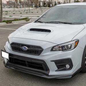 VRS Style Front Splitter Lip Ground Effect | 2018-21 Subaru WRX / STI