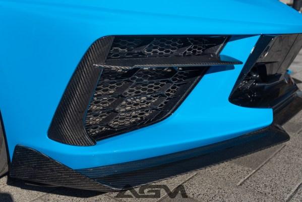 AGM Carbon Fiber Grille Inserts | 2020+ C8 Corvette – AGMotorsports