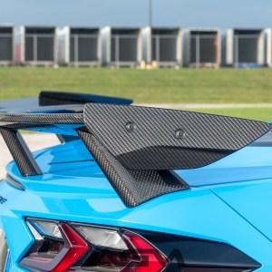 AGM Carbon Fiber High Wing Spoiler | 2020+ Chevy Corvette C8 – AGMotorsports