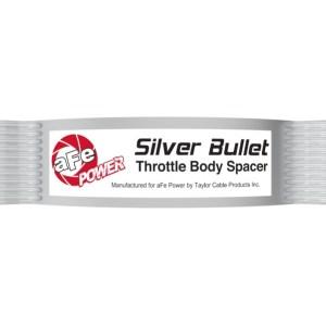 Silver Bullet Throttle Body Spacer Kit Silver | 2020-21 Corvette C8
