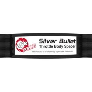 Silver Bullet Throttle Body Spacer Kit Black | 2020-21 Corvette C8
