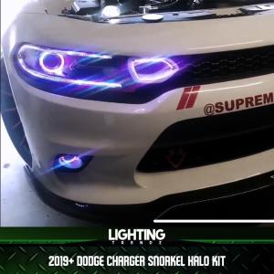 Waterproof Snorkel Halo Grille Lights | 2019+ Dodge Charger – Lighting Trendz