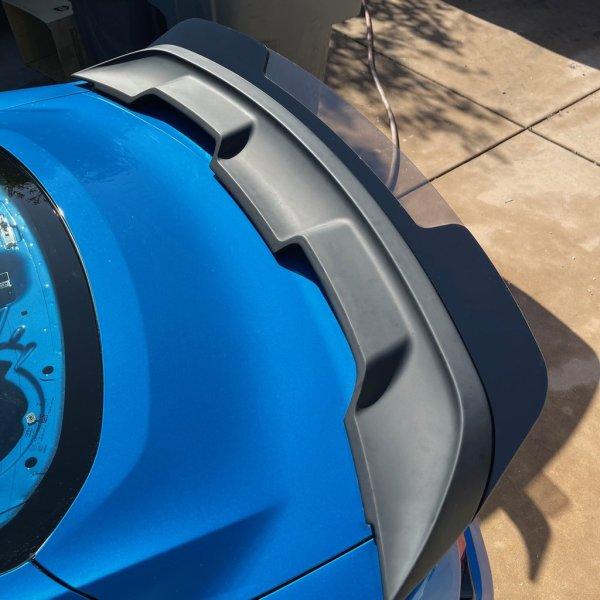 GT500 Wicker Bill – ZL1Addons   2015-2021 Mustang