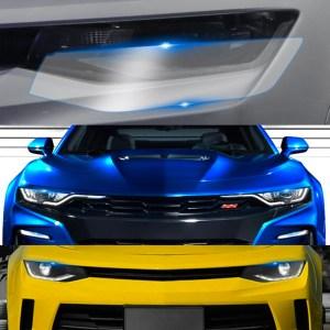 Headlight Protection Film | 2016-2021 Chevy Camaro
