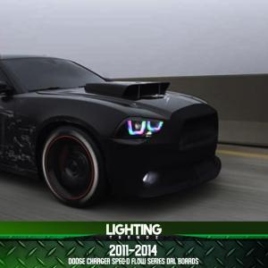 Spec-D Flow Series DRL Boards | 2011-14 Dodge Charger – Lighting Trendz
