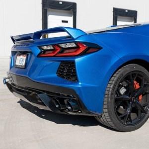 Corsa C8 Corvette 3.0″ Cat-Back Variable Valved NPP Exhaust System  Black Tips (21100BLK) | 2020 – 2021