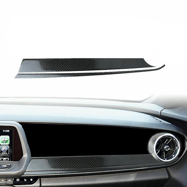 Carbon Fiber Lower Passenger Dashboard Cover | 2016-2021 Chevy Camaro