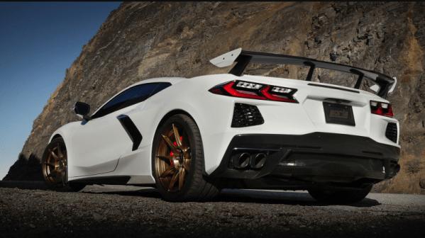 Corvette C8 Borla S-Type Cat-Back Exhaust Black Chrome Tips   2020 – 2021 Chevy Corvette C8 Stingray