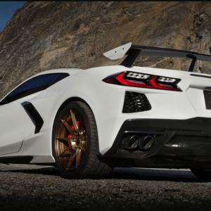 Corvette C8 Borla S-Type Cat-Back Exhaust Black Chrome Tips | 2020 – 2021 Chevy Corvette C8 Stingray