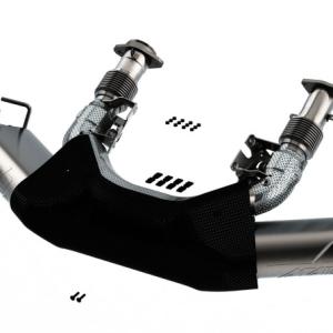 Borla ATAK Cat-Back Exhaust (140839BC) | 2020-2021 Chevy Corvette C8 Stingray