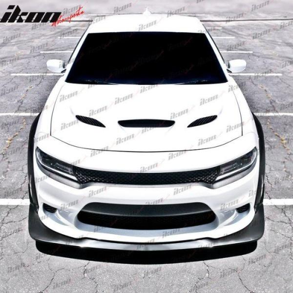 Charger SRT Wide Body Fender Flare + Splitter Kit   2015 – 2021 Dodge Charger