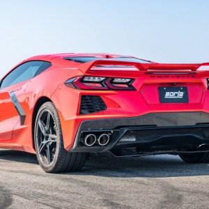 Corvette C8 Borla Cat-Back Exhaust System S-Type 2020 – 2021 Chevrolet C8 Stingray 6.2