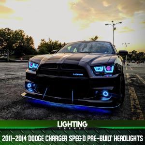 Spec-D Pre-Built Headlight | 2011-14 Dodge Charger – Lighting Trendz