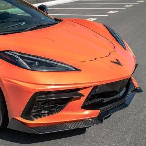 Carbon Fiber 5VM Style Front Splitter Lip  | 2020 – 2021 C8 Corvette