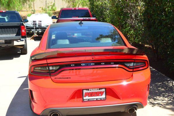 Carbon Fiber SRT Wicker Bill | 2015 – 2021 Dodge Charger SRT – ZL1 Addons