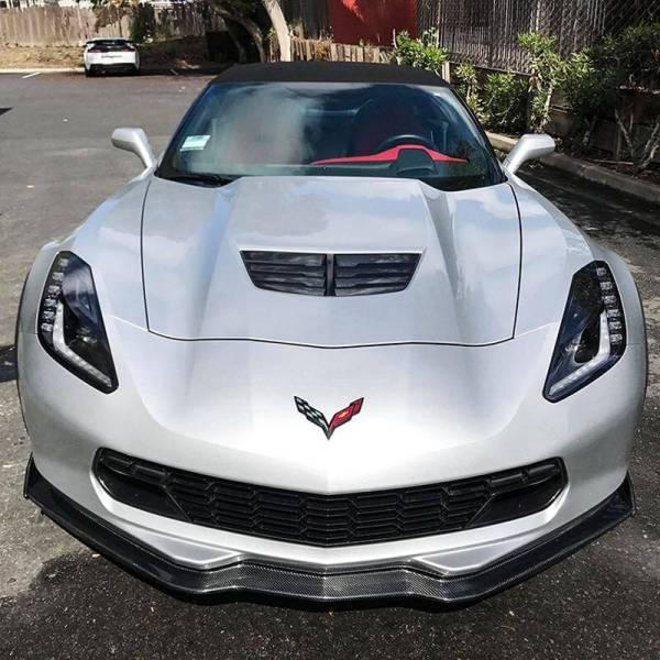 Stage 2 Front Splitter Ground Effect | 2014-19 Corvette C7