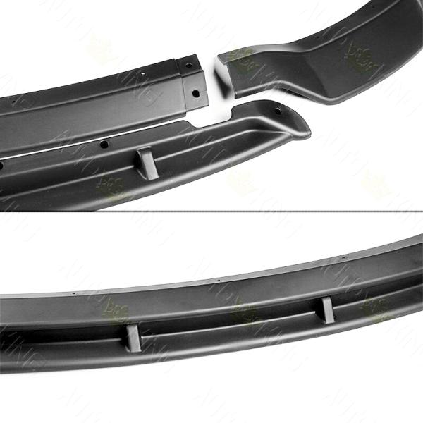 SRT Track Package v2 Splitter Lip – Matte Black   2015 – 2021 Dodge Charger