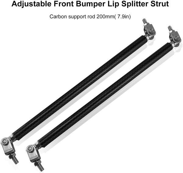 Carbon Fiber Splitter Rods – 8″/200MM