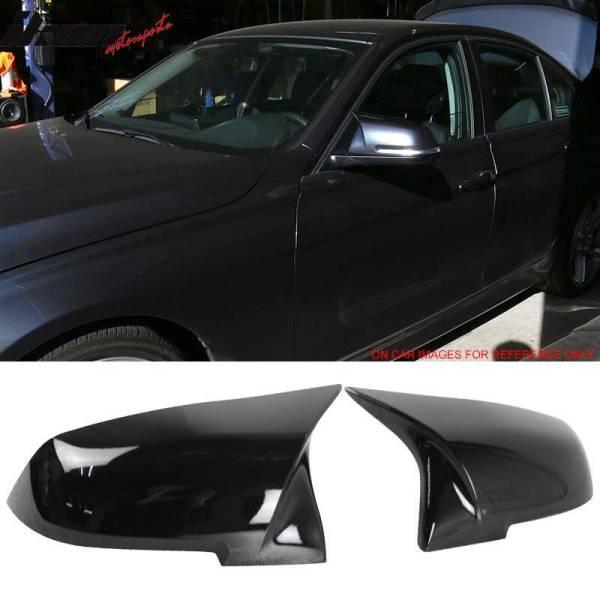 Pair M4 Glossy Black Mirror Covers | 2012-18 BMW E84 F20 F22 F32 F33