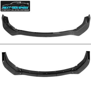 Carbon Fiber SRT Widebody Splitter Lip – 3PC | 2020 – 2021 Dodge Charger