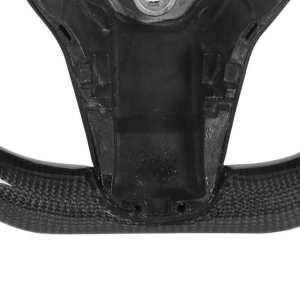 Carbon Fiber Steering Wheel | 2017+ Tesla Model 3