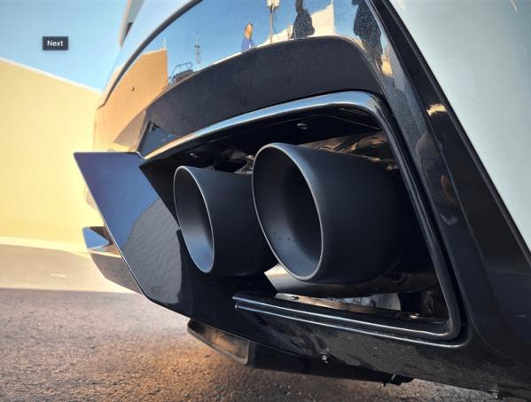 2020+ C8 Corvette MRT Street Race Cat-back Exhaust   2020 – 2021+ Corvette C8