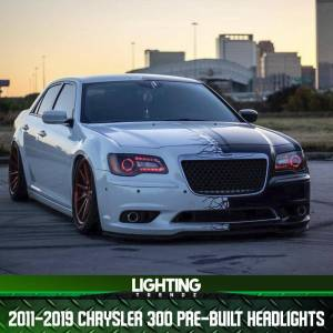 Pre-Built Color Changing Headlights | 2011 – 2019 Chrysler 300 RGBW/Flow Series