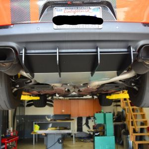 ZL1 Addons Diffuser | 2015 – 2022 Dodge Challenger