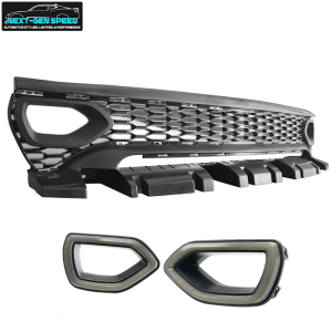 Charger Widebody LED Snorkel Upper Grille Replacement  | 2020 – 2022 Charger SRT Widebody