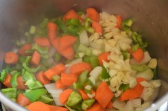 onion carrot celery garlic