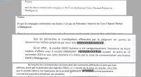 NEXTHOPE RANARISON TSILAVO la cour d'appel d'Antananarivo qui se ridiculise en traduisant de travers l'attestation de CISCO Systems