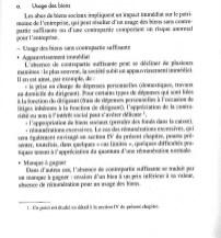 NEXTHOPE RANARISON Tsilavo l'usage des biens sans contrepartie immédiate