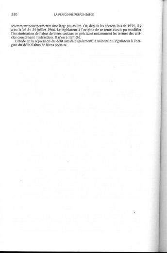 NEXTHOPE l'élément moral obligatoire d'après Pr MEDINA_Page245