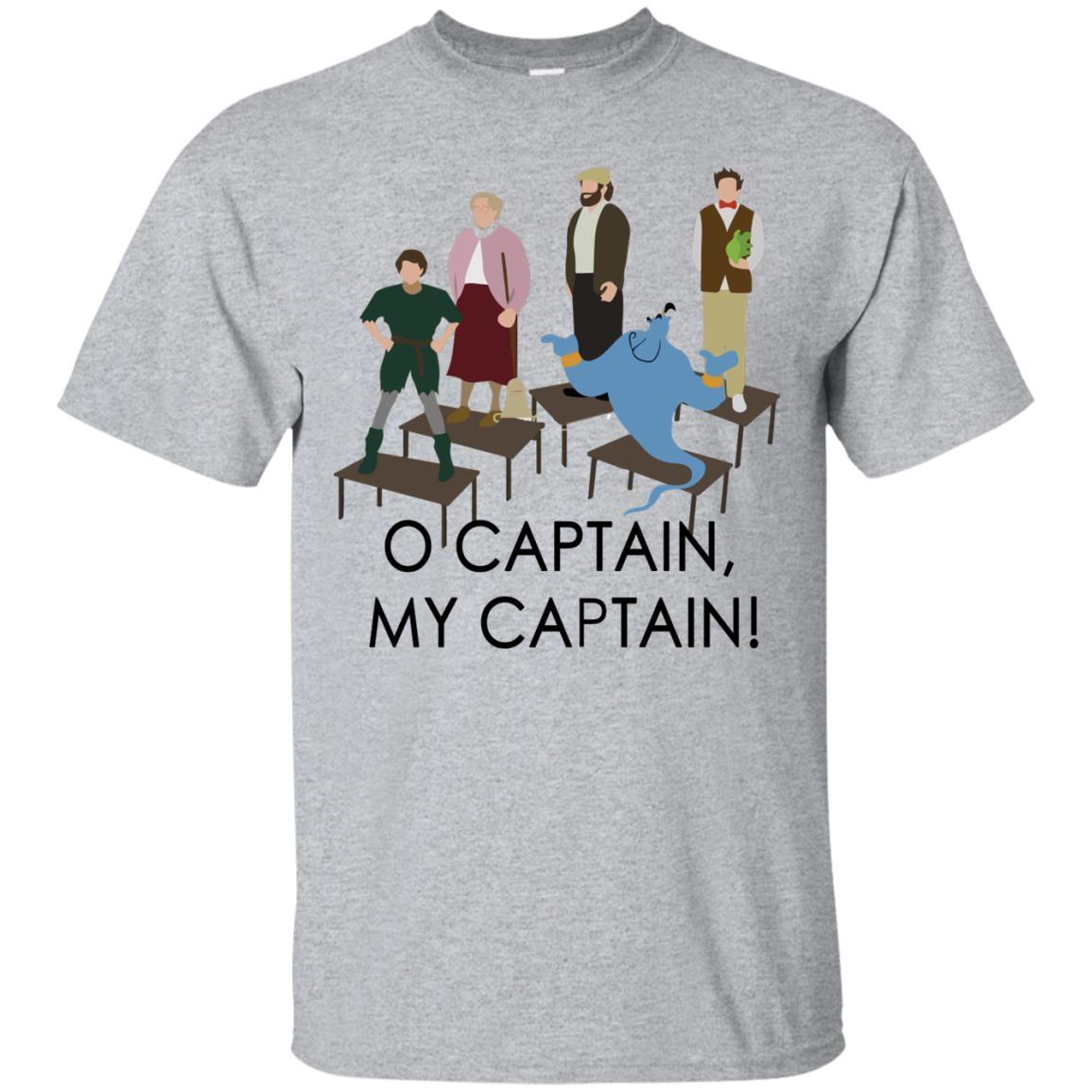 O Captain My Captain Robin Williams Tribute Shirt Guys