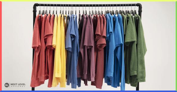 Vintage Washed Blank Promotional T-shirts, Next Level