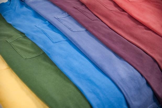 Inspired Dye Pocket Crew Vintage Washed Apparel for printing