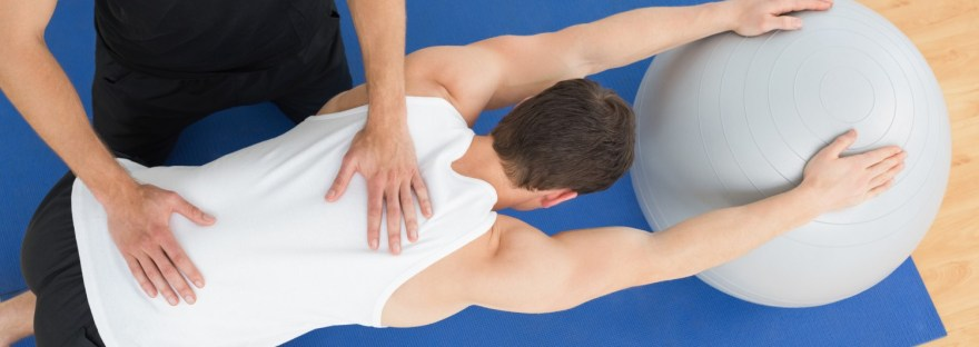 Physiotherapy exercises after a stroke