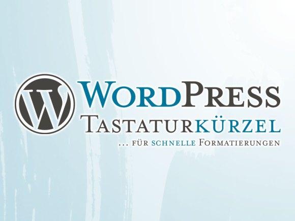 WordPress Tastaturkürzel