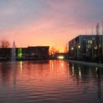 Sonnenuntergang nach der SMX