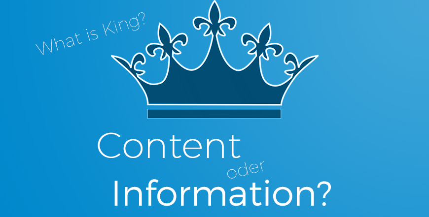 SEO: Content is King vs. Information is King