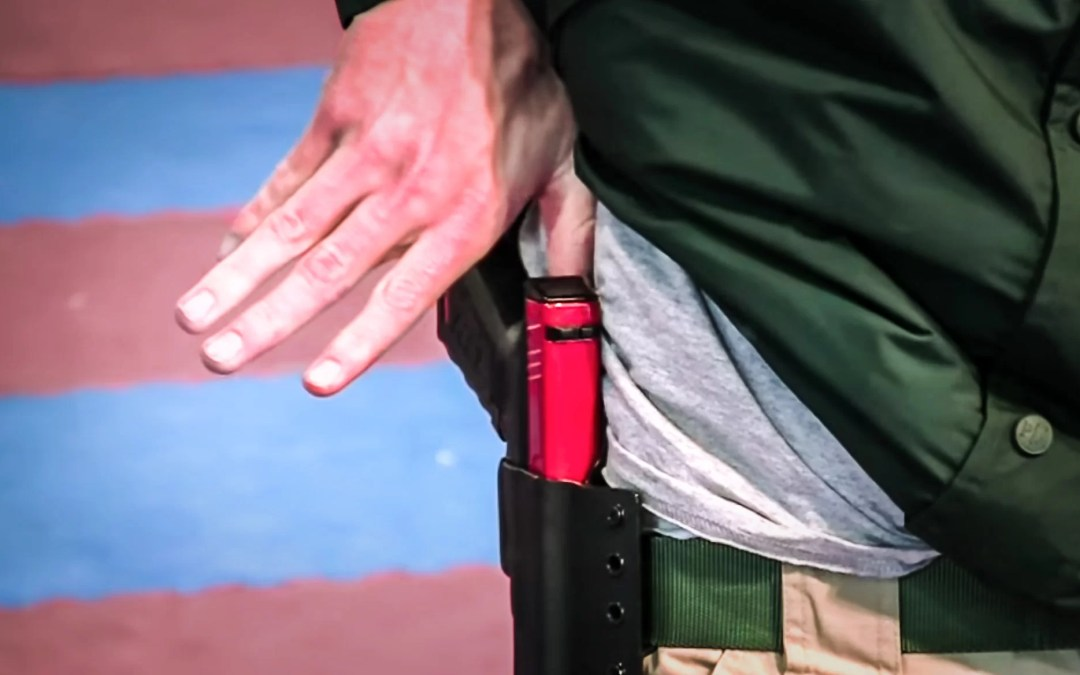 Chris Collins Concealed Carry Draw Part 2