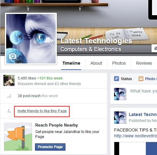 Click on Invite Friends to Like Facebook Page and See this Chrome Extension Automatically Invite all Friends to Facebook Page in One Click