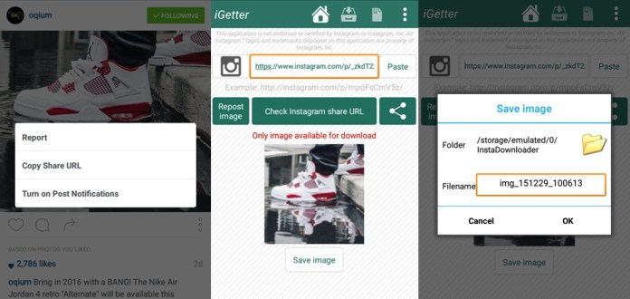 InstaGetter App - Download Instagram Pictures and Videos