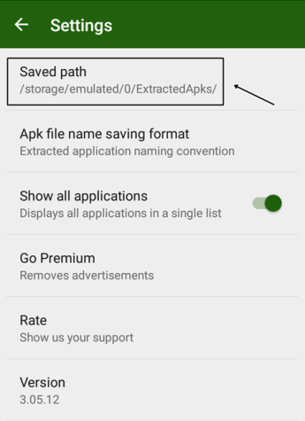 Extract APK File From Android