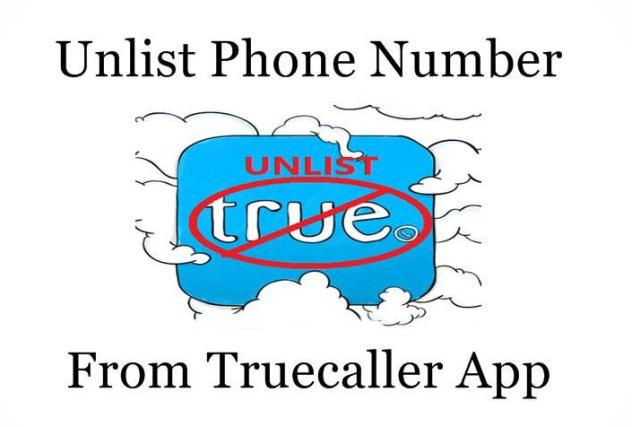 How to Unlist and Remove number from Truecaller