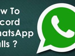 How to Record Whatsapp Calls in iPhone & Android