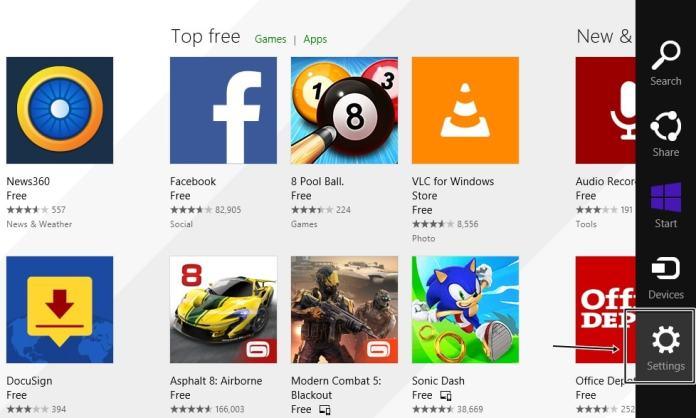 Stop Automatic App Updates in Windows 8.1
