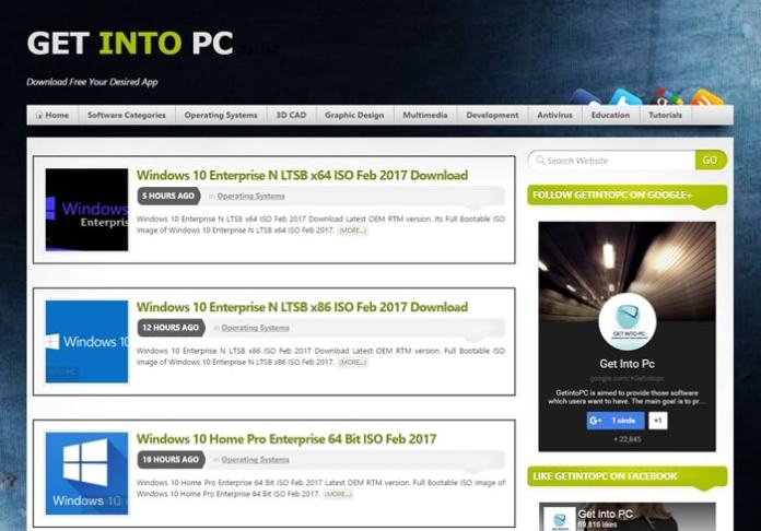 Top Best Windows Download Sites for ISO Disc Image
